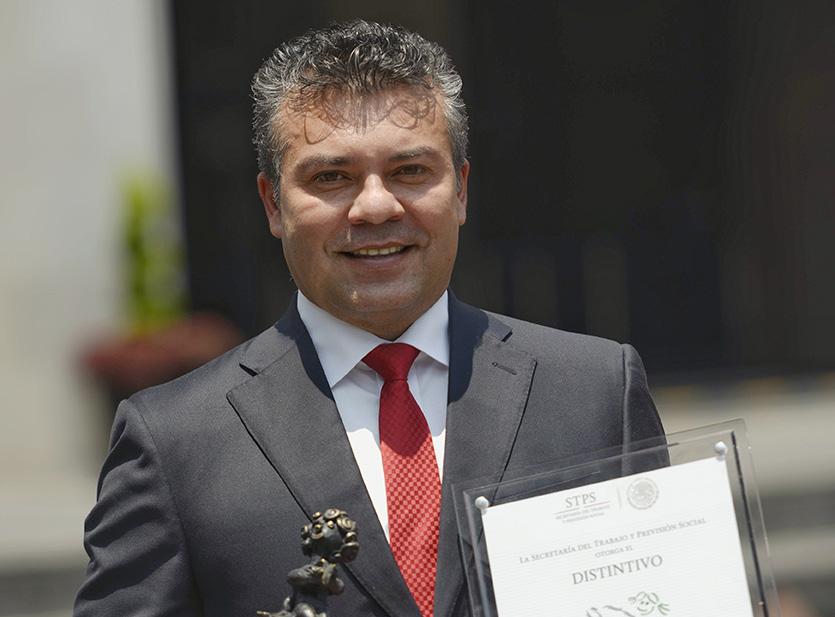MAURICIO GÓNGORA BIEN UBICADO Y RECONOCIDO POR LA FEDERACIÓN.