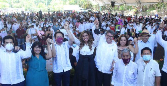 UN PESO COMPLETO EN LA BÁSCULA POLÍTICA MARYBEL VILLEGAS.